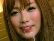 Tina Katoh gets cum all over her faceasian anal, japanese porn, sexy asian}