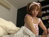 Yuu Namiki cute Asian girl is a sex addict picture 4