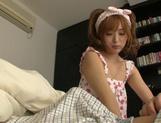 Yuu Namiki cute Asian girl is a sex addict