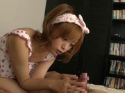 Yuu Namiki cute Asian girl is a sex addict