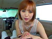 Yuna Namiki gives a stunning car blowjobjapanese sex, japanese porn}