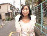 Horny babe Ren Azumi fucks horny studs picture 12