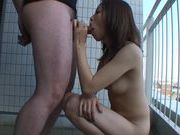 Ena Ouka Gives Her First Blowjob On Camera And Gets Her First Facialjapanese sex, asian girls}