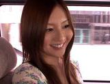 Japanese masseuse Yui Tatsumi sucks client's cock picture 3