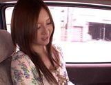 Japanese masseuse Yui Tatsumi sucks client's cock picture 5