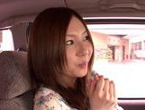 Japanese masseuse Yui Tatsumi sucks client's cock picture 9