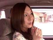 Japanese masseuse Yui Tatsumi sucks client's cock