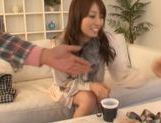 Hot milf Alice Miyuki covered in heaps of jizz!