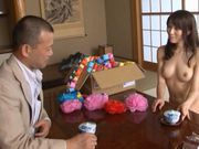 Hot Japanese chick Arisu Miyuki gets fucked hard