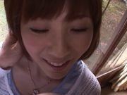 Yuma Asami swallows lots of cum