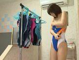 Sexy Asian Nanami Kawakami is wet swimsuit Nanami Kawakami fucked hard