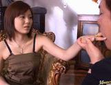 Chunky babe with huge boobs Yama Asami fucks after hot foreplay picture 13