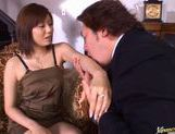 Chunky babe with huge boobs Yama Asami fucks after hot foreplay picture 15