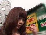 Hot Japanese middle aged woman was fucked as a school dressed girl