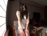 Slightly Shy Haruna Nakayama Keeps Her Clothes On During Sex picture 13