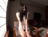 Slightly Shy Haruna Nakayama Keeps Her Clothes On During Sex picture 14