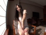 Slightly Shy Haruna Nakayama Keeps Her Clothes On During Sex picture 15