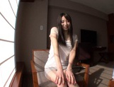 Slightly Shy Haruna Nakayama Keeps Her Clothes On During Sex