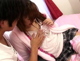 Eiro Chica Asian teen in stockings gets a hard fucking picture 12