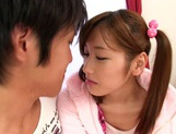 Eiro Chica Asian teen in stockings gets a hard fucking picture 3