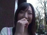 Sakura Ayame's Hairy Teen Twat Fucked Hard From Behind