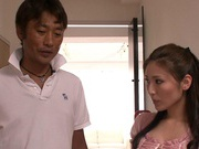 Hardcore Golf Lessons With Yuna Shiina End In Cumshots
