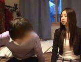Hardcore sex with busty teen Rune Tsukishiro!