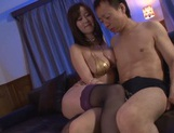 Gorgeous Japanese enjoys a good fuck session picture 4