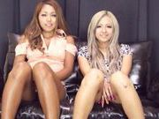 Hot chicks Julia Tachibana and Runa Asahi fuck with toys