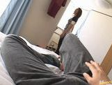 Japanese sex queen Maria Ozawa POV blowjob picture 3