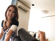 Japanese sex queen Maria Ozawa POV blowjob