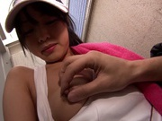 Tennis Girl Suzu Wakana Gets Her Tits And Pussy Rubbed