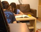 Teenage Asian students gets horny and caught fucking on a voyeur cam picture 7