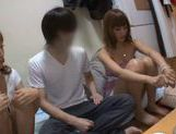 Japanese hottie gives sensational blowjob! picture 14