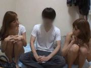 Japanese hottie gives sensational blowjob!