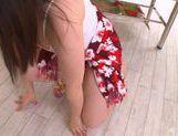 An Shinohara busty Asian babe gives massage and gets cumshot