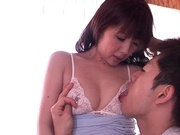 Astounding Yuki Misa enjoying deep penetration sexasian pussy, asian ass}