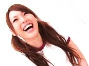 Shiori Hazuki Asian model with two horny guys
