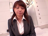 Office MILF With Big Tits Fucked Hard Through Her Pants