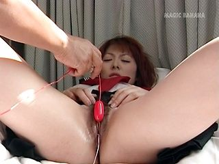 Rei Himeshima wild masturbation session