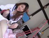 Hot Teen Rei Minami Has CFNM Sex With A Creamed Pussy picture 15