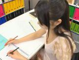 Miku Asaoka cream pie after school studies! picture 10