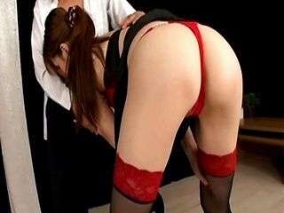 Alluring Asian babe Ameri Ichinose in sexy lingerie