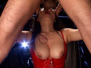 Two Guys Head Fuck Hazuki Nozomi In A Blowjob Threesome