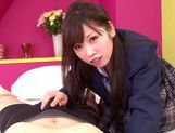 Sexy Yamaguchi Rico kinky school girl sex picture 15