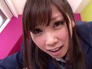 Sexy Yamaguchi Rico kinky school girl sex