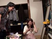 Sexy Japanese girl Yui Tatsumi gets fucked by her date