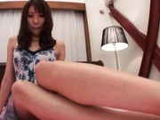 Alice Myuki Asian doll gets her pussy fingered
