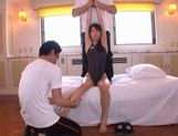 Alice Miyuki wild group sex action!