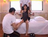 Alice Miyuki wild group sex action! picture 5